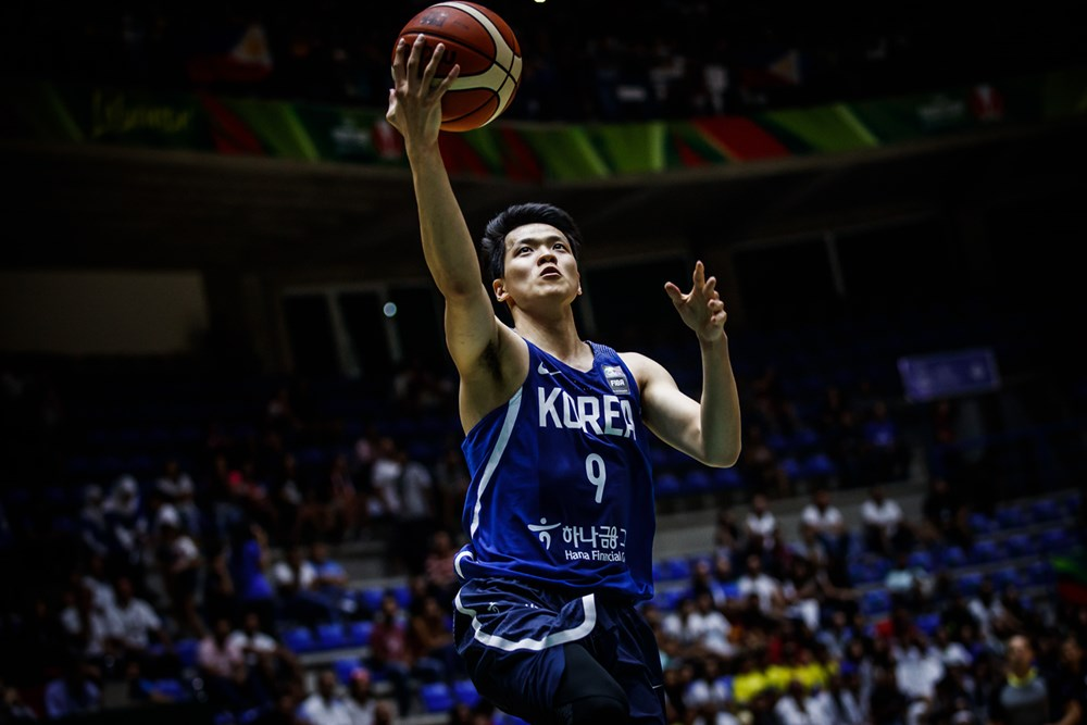 South Korea blowout win against Gilas Pilipinas in a Knock-Out Quarter Finals of the 2017 FIBA Asia Cup,