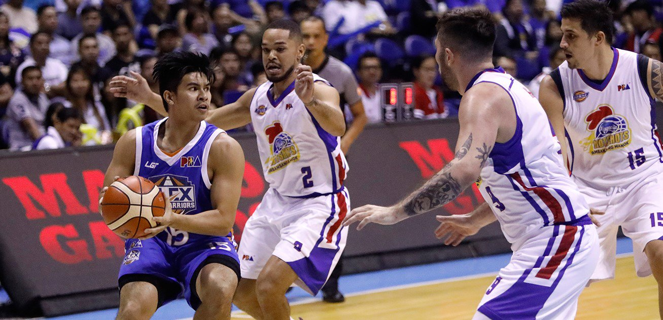Kiefer Ravena's Dishes, Boards and Steal lead NLEX Warriors to a victory