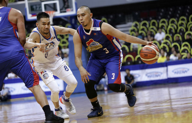 Paul Lee led Magnolia with 27pts to even series