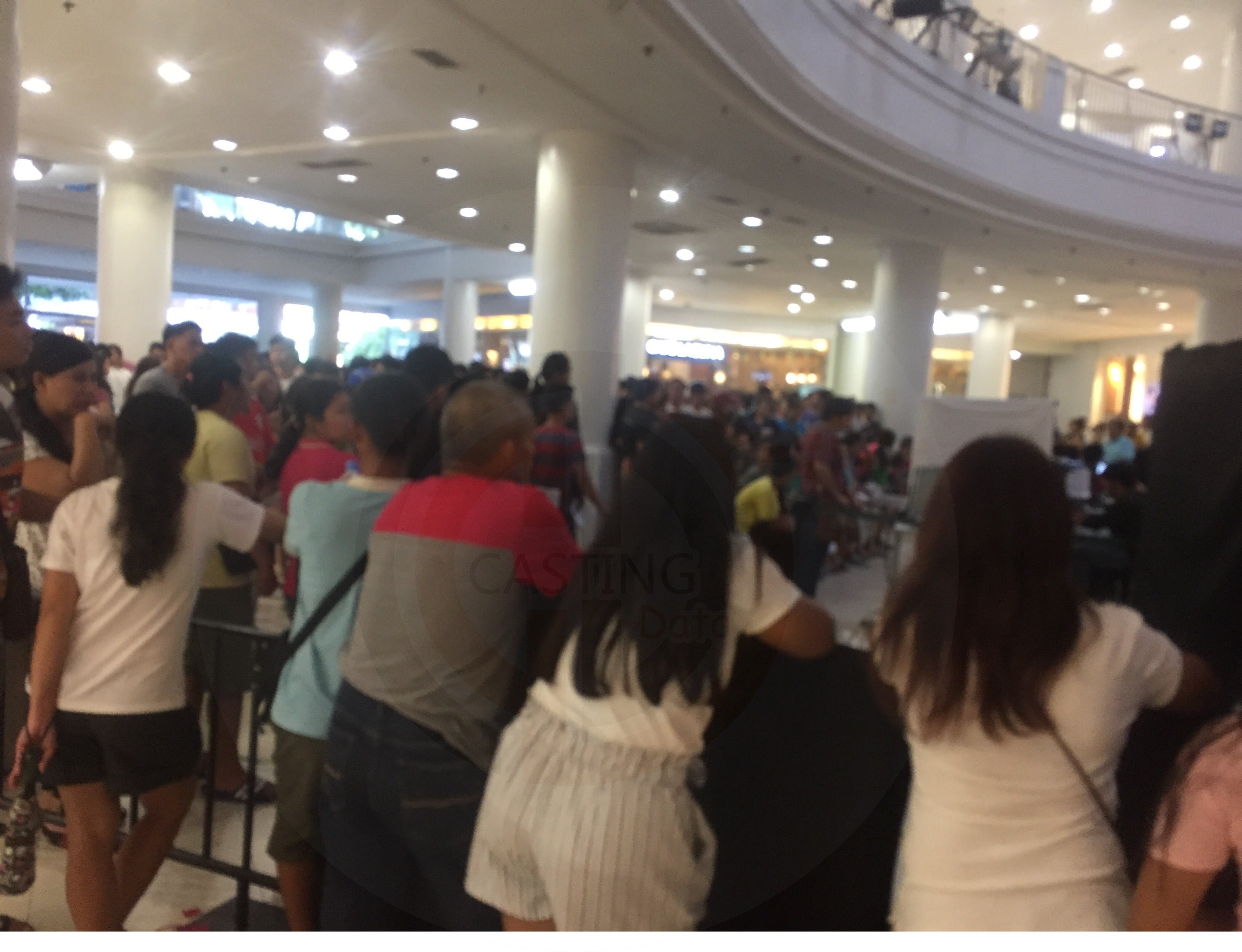 Thousands of people line-up in Satellite Centers for Voters Registration in Ayala Center Cebu