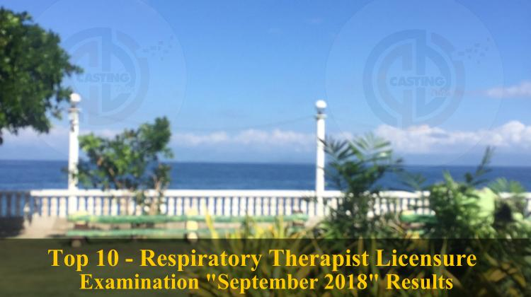 Top 10 - Respiratory Therapist Licensure Examination