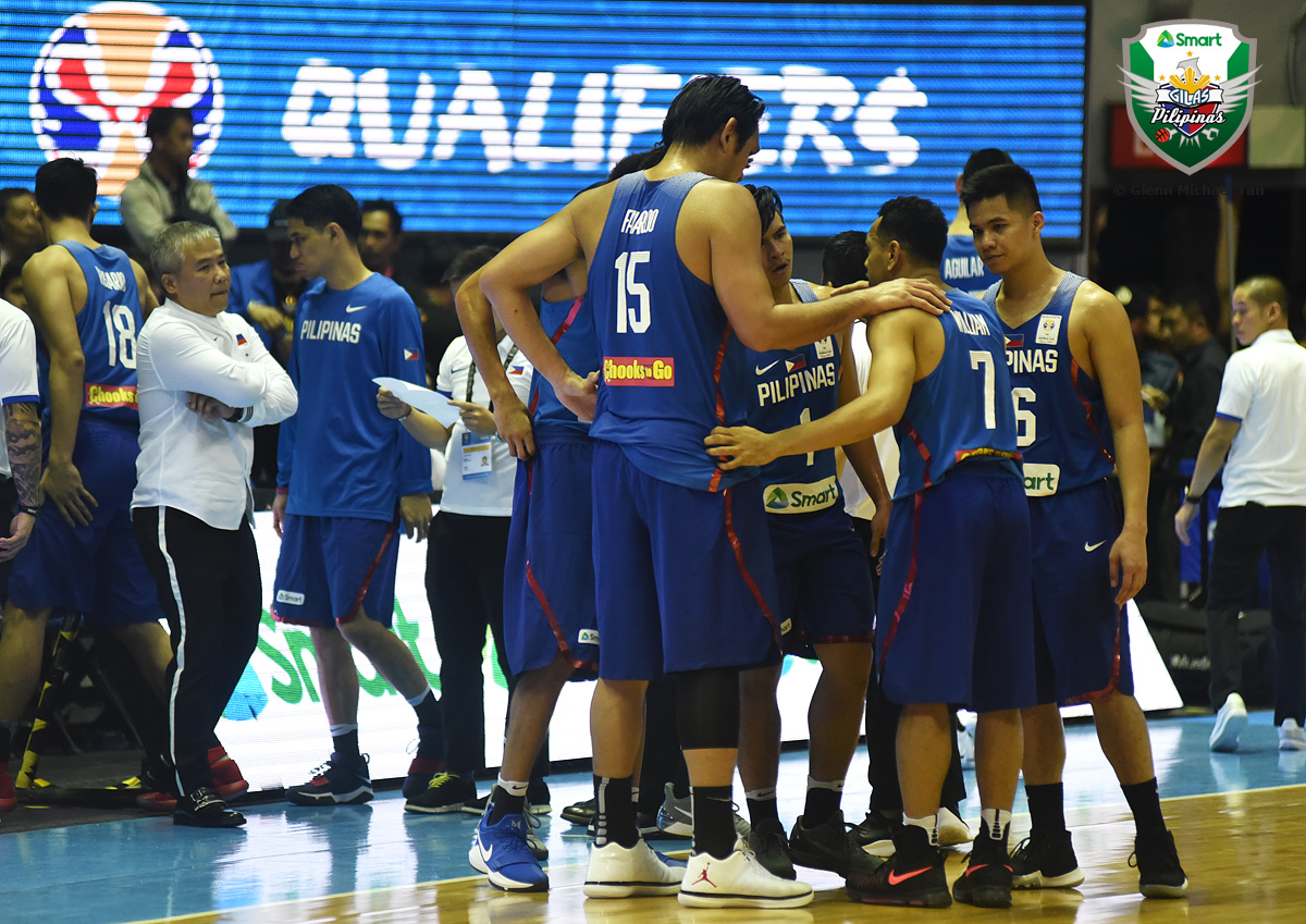 Smart Gilas will open their game against Australia without Jason Castro