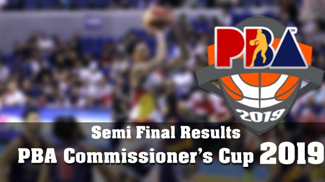 PBA  - Commissioner's  Cup 2019, semi-finals results between TNT Katropa and Barangay Ginebra